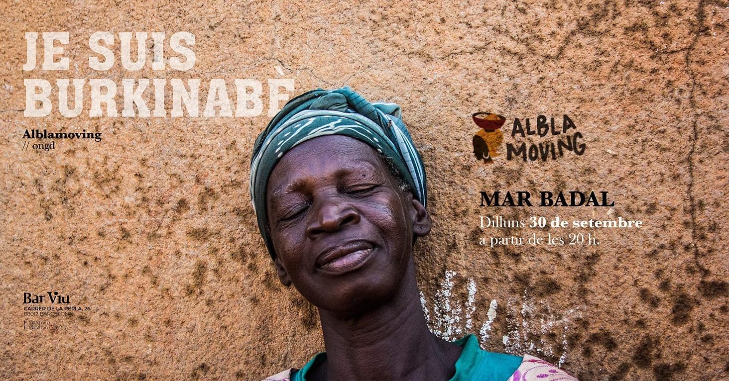 No te pierdas nuestro próximo evento solidario en Barcelona. Toda la recaudación irá destinada a los proyectos de Alblamoving en Burkina Faso